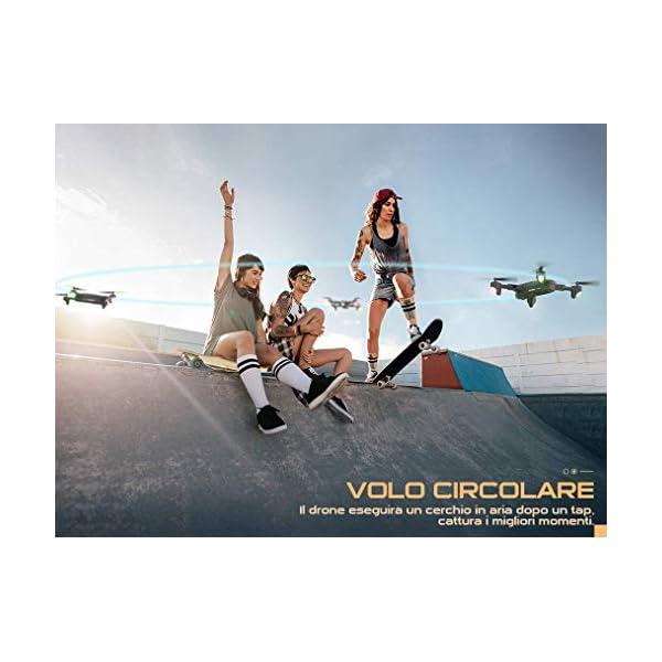 SNAPTAIN SP500 1080P Drone con GPS Telecamera FHD, Trasmissione WiFi 5G, modalità Ritorno Home, modalità Seguimi, Controllo dei Gesti, Volo Circolare, modalità Hover per i Principianti 5 spesavip