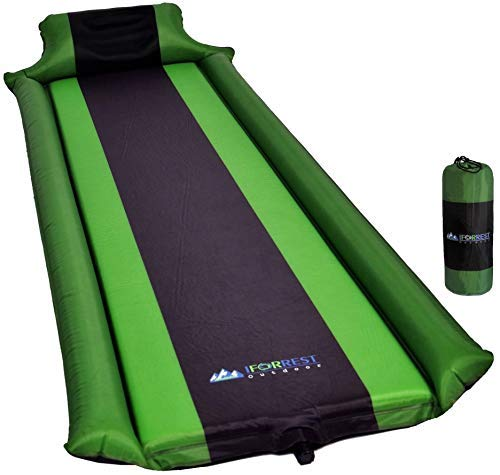 IFORREST Sleeping Pad Camping with Armrest & Pillow - Ultra Sleeping Hammock, Comfortable Self-Inflating Foam Air Mattress is Ideal for Travel, Camping & Hiking, Backpacking, Cot, Hammock, Tent & Sleeping Bag! (Green) [並行輸入品] B07R3Y87BB, ブランドマイスター:442f3e21 --- anime-portal.club