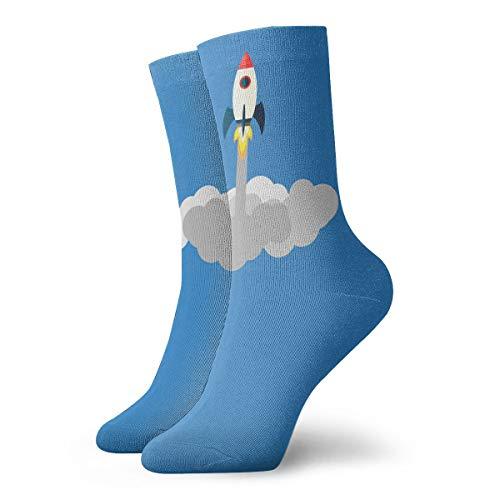 YUANSHAN Socks Takeoff Rocket Women & Men Socks Soccer Sock Sport Tube Stockings Length 11.8Inch ()