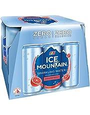 Ice Mountain Sparkling Water Grapefruit, 6 x 325ml