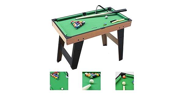 Mesa de billar Mini mesas de Billar Niños Mesa Grande Juegos ...