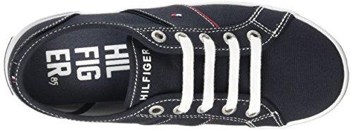 Tommy HilfigerS3285LATER 1D-1 - Zapatillas Niños-Niñas, Color Azul, Talla 36 EU