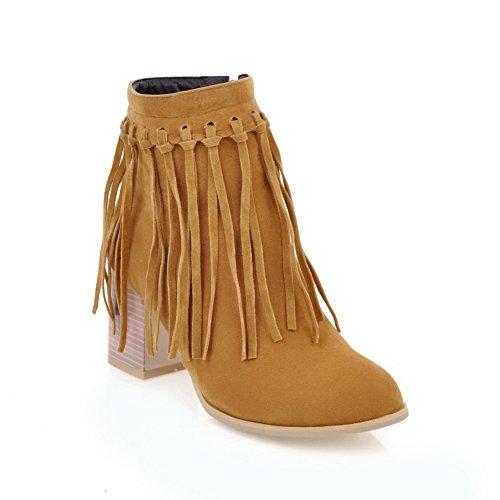Jaune 5 Femme Sandales Abl10651 Balamasa 38 Eu Compensées U6TIqWwxA