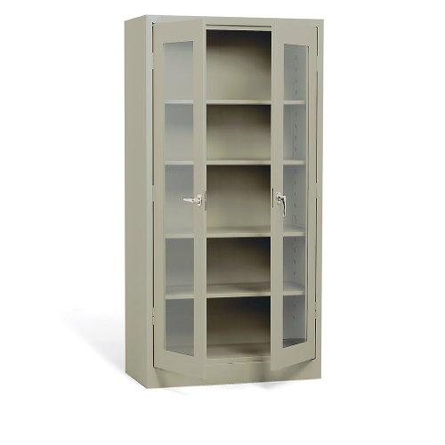 - Atlantic Metal Visual Storage Cabinet - 36X24x42