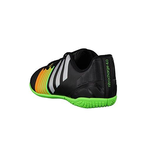 Adidas Nitrocharge 4.0 IN J BLAU/RUNWHT