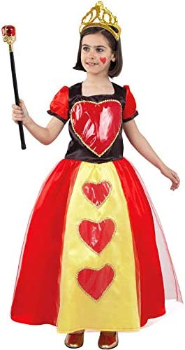 DISBACANAL Disfraz Reina de Corazones niña - -, 6 años: Amazon.es ...