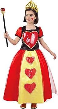 DISBACANAL Disfraz Reina de Corazones niña - -, 4 años: Amazon ...