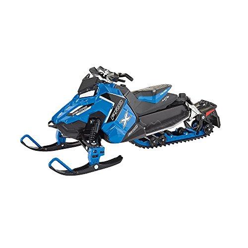 1 800 Mobile (NewRay 1:16 Snowmobile-Polaris 800 Switchback Pro-X-Blue Diecast Vehicle)