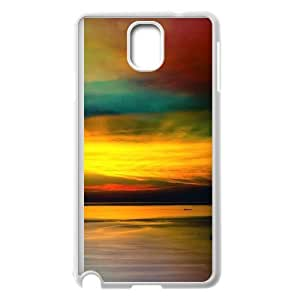 Best Quality [LILYALEX PHONE CASE] Colorful Rainbow Pattern For Samsung Galaxy NOTE4 CASE-2