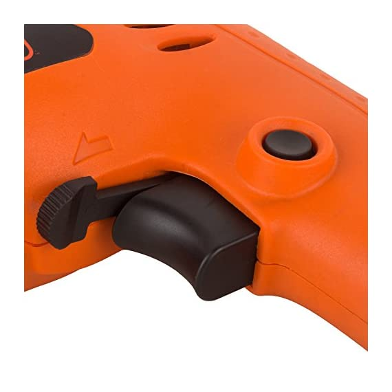 BLACK+DECKER BD65RD 400W 6.5mm Variable Speed Reversible Rotary Drill (Orange, 2-Pieces) 3