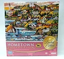 HOMETOWN COLLECTION Castle Country 1000 Piece Puzzle LIMITED EDITION by Mega Puzzles