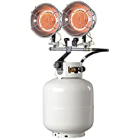 Mr. Heater MH30T Double Tank Top Outdoor Propane Heater (Propane Cylinder not Included)