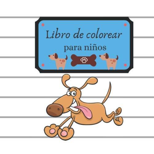 Libro de colorear para niños: Libro para colorear simple ...