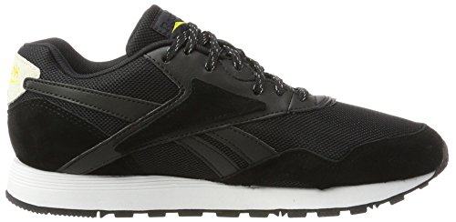 Reebok Herren Rapide NHP Sneaker Schwarz (Black/Coal/Chalk/Primal Yellow/White)