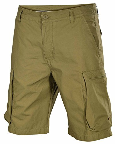 Nike Men's Woven Performance Cargo Shorts-Olive-30