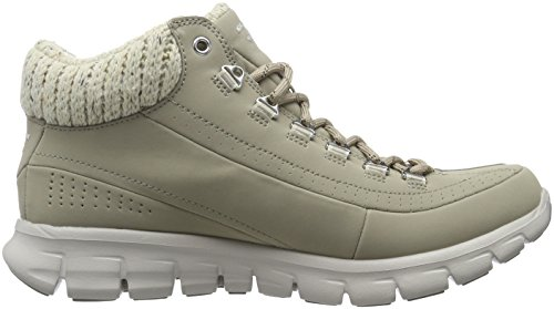 winter stn Mujer Botas Beige Para Synergy Nights Skechers 1wqxFF