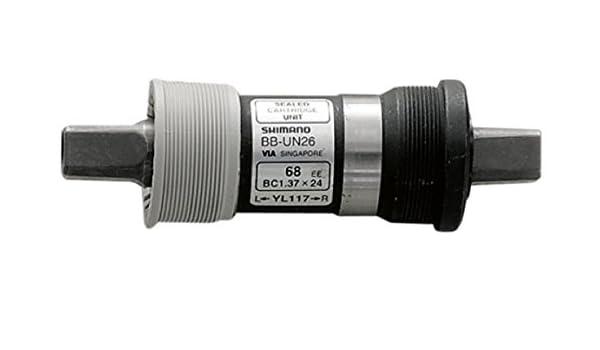 ca002192024 Amazon.com : SHIMANO BB-UN26 68mm BSA bottom bracket without Crankscrews ( Length: 123 mm) : Bottom Bike Brackets And Accessories : Sports & Outdoors