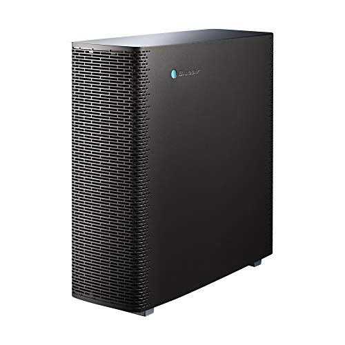 Blueair Sense+ Air Purifier, HEPASilent Technology Particle and Odor Remover, Graphite Black