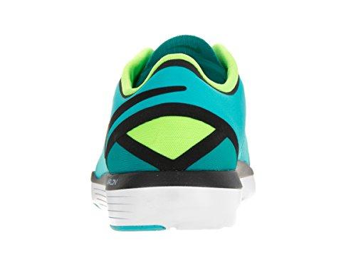 Nike Kvinna Lunar Skulptera Träning Sko Gmm Blå / Blk Enrgy Elctrc Grn