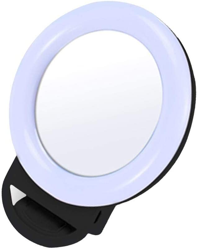 xanam Beauty Self Timer Lamp Ring Photography Live LED Mobile Phone Fill Light Macro /& Ringlight Flashes