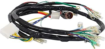 amazon com honda cb750 wire harness honda cb750k 1969 71 oem rh amazon com