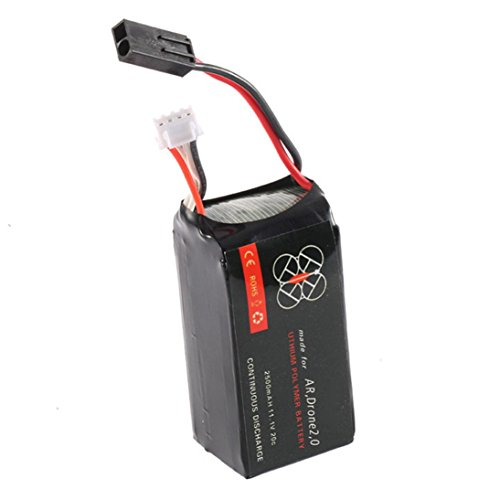 1 Pcs Lipo Battery 11.1V 2500mah 20C for Parrot AR.Drone 2.0 Quadcopter Best Durable by Dreamyth