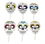 Day of the Dead Handheld Masks