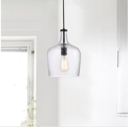 Mouth Blown Glass Pendant Light in Florida - 5