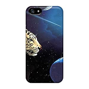 New Arrival Cases Specially Design For Iphone 5/5s (space Tiger)