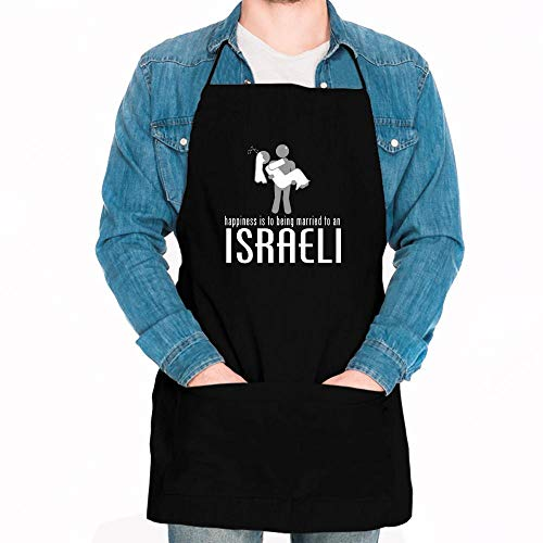 Idakoos HAPPINESS IS TO BEING MARRIED TO A Israeli Apron 24