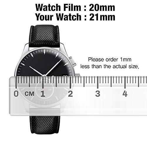 95d9540cde1e6 Smartwatch Screen Protector Film 44mm for Round Wrist Watch Healing ...