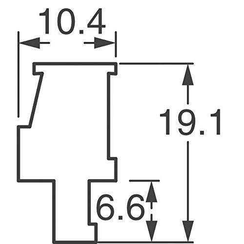 TERM BLOCK PLUG 8POS 3.81MM (Pack of 5)