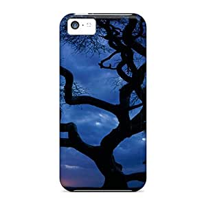 Premium Night Tree Heavy-duty Protection Case For Iphone 5c