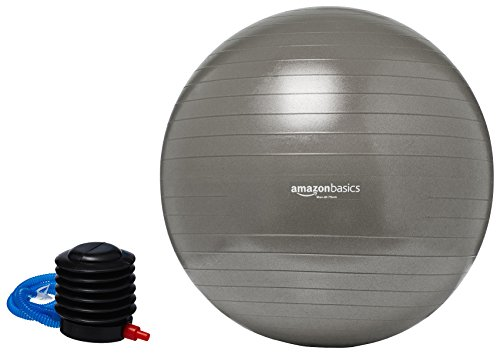 AmazonBasics Balance Ball Foot Pump