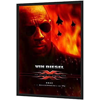movie poster frame 27x40 inches black snapezo 217 aluminum profile front loading - Movie Poster Frames 27x40