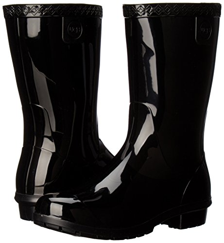 UGG Kids K Raana Rain Boot, Black, 4 M US Big Kid by UGG (Image #6)