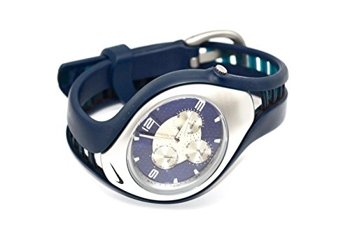 d35975a825e5 NIKE TRIAX SWIFT 3I BLUE DIAL BAND ANALOG SPORT WATCH