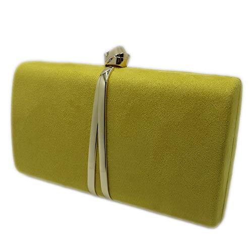 Suede Evening Clutch Bags...