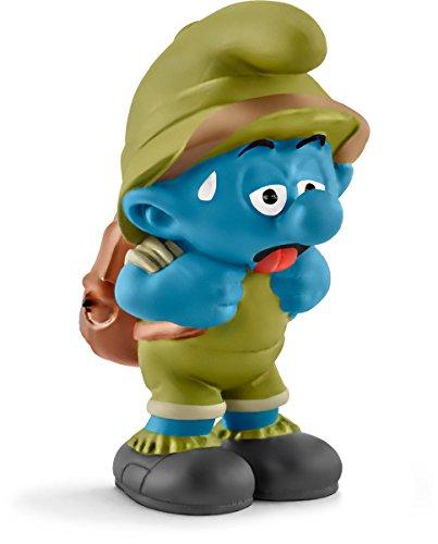 Schleich North America Tired Jungle Smurf Toy (Smurfs Figurine)