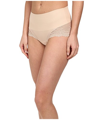 SPANX Undie-Tectable Lace Hi-Hipster Panty Soft Nude MD