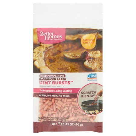 Better Homes and Gardens Scent Bursts, Spiced Pumpkin Pie from Better Homes & Gardens