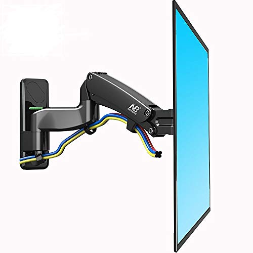 NB North Bayou TV Wall Mount Bracket Full Motion Articulating Swivel for 50 to 60 Inch TV with Gas Spring F500-B