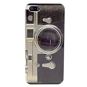 MOFY- Dise–o de la c‡mara trasera dura del caso para el iphone 5/5s