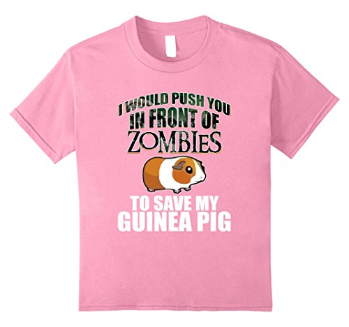 Kids Funny To Save My Guinea Pigs T-shirt Animal Lover Zoo Gift 10 Pink