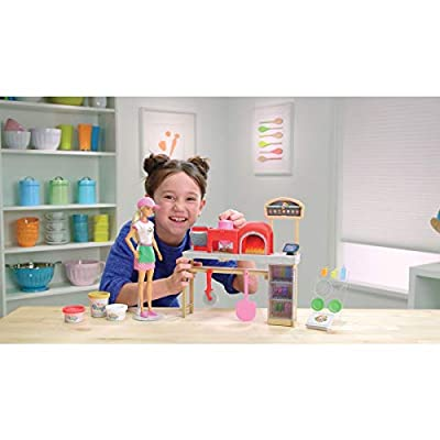 Barbie Pizza Chef Doll and Playset: Toys & Games