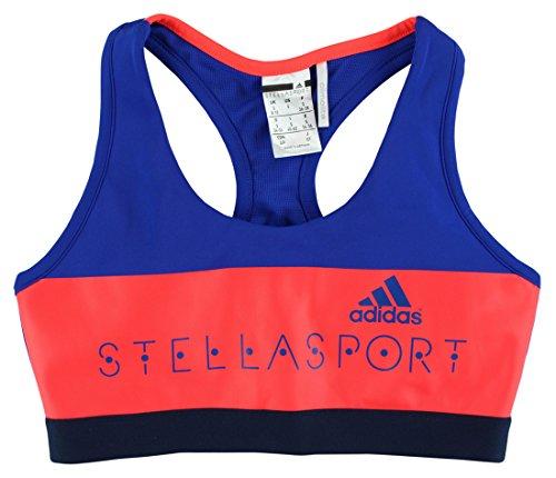 adidas Women's Padded Sport Bra, X-Small, Bold Blue