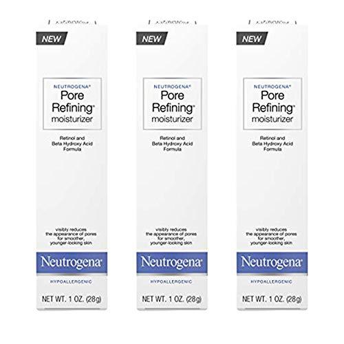 Neutrogena Pore Refining Moisturizer, 1 Ounce Pack of 3