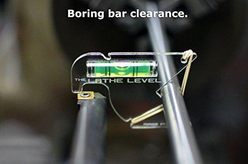 The Lathe Level - Made In USA - Lathe Center Gage Tool Lathe Height Gauge Tool by USA-RWB (Image #4)