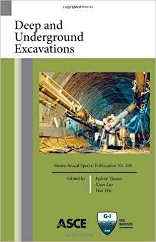 Deep and Underground Excavations, Geotechnical Special Publication No. 206