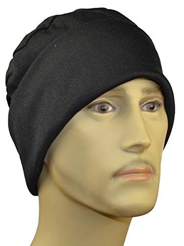 Amazon.com   HC Men s Black Chemotherapy Hat 22faffaba30